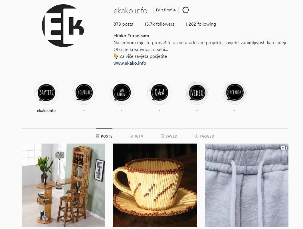 Kako preuzeti slike i objave sa Instagrama